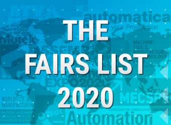 The Fairs list 2020